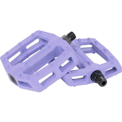"We The People Logic Pedals - Platform, Composite/Plastic, 9/16"", Lilac"