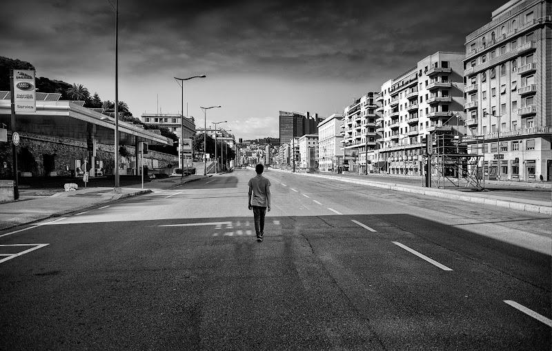 living in a ghost town di ____Arrivo