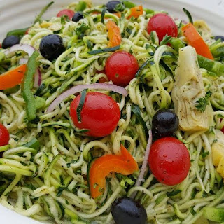 Pastaless Italian Salad
