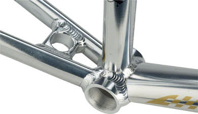 "Staats Bloodline SuperMoto30 Pro XXL PF30 Frame 22"" Top Tube Silver Arrow Polished alternate image 0"