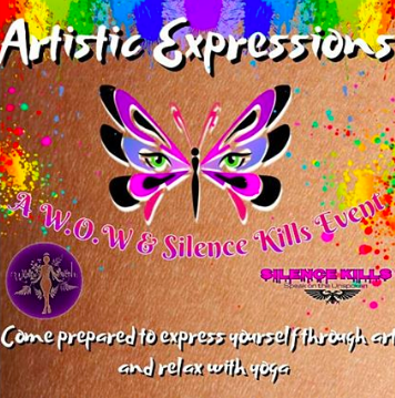 Artistic Expressions event flyer