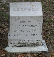Photo: J.C. Canaday son of C.C. Canaday and Ella Thompson