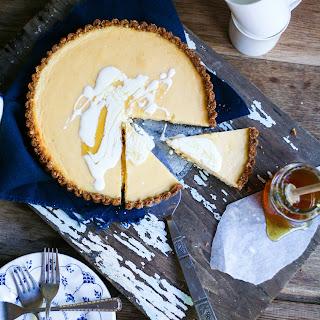 Lemon & Honey Anzac Tart Recipe