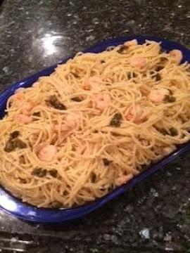 Shrimp And Lemon Spaghetti Recipe