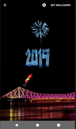 4D Happy New Year 2019 Live Wallpaper 1.0 screenshots 11