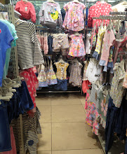 Photo: Younger girls clothing had it's own dedicated area. the main isle was slightly wider but it was the only one.