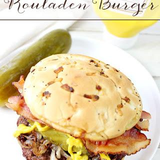 Rouladen Burger