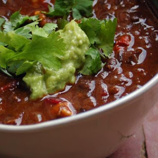 Beet Greens & Fresh Baby Corn In Fiery Red Meat Chili