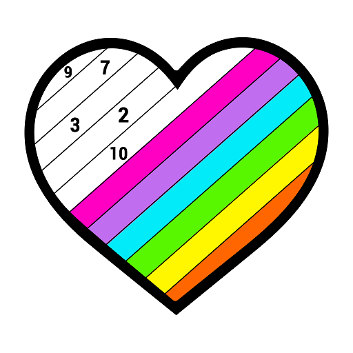 Paint by Number: Color by Number, Adult Coloring Icon