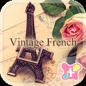 Cute Theme-Vintage French- icon