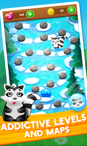 Raccoon Rescue: Bubble Shooter Saga screenshot 2