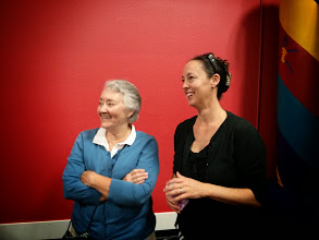 Photo: Miss Donna (Director) and Eva (President)