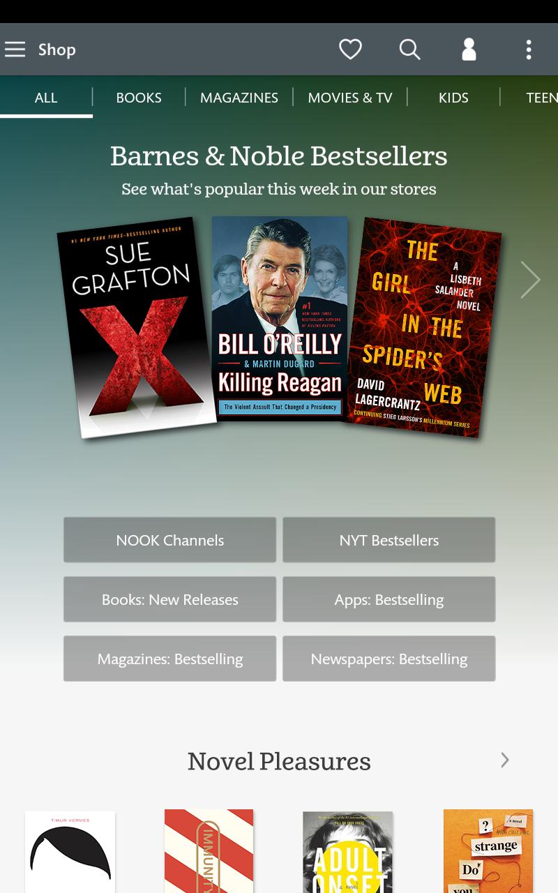 NOOK: Read eBooks & Magazines screenshot #19