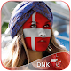 Denmark Flag Face Paint - Professional Pic Editor icon
