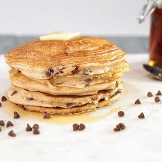 Cinnamon Chocolate Chip Pancakes