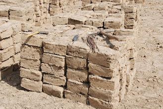 Photo: construction de la bergerie janvier 2011