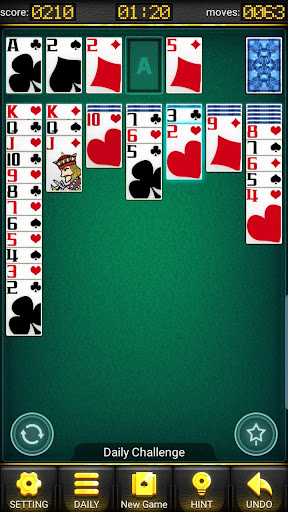 Solitaire- Daily Challenge Card Game android2mod screenshots 2