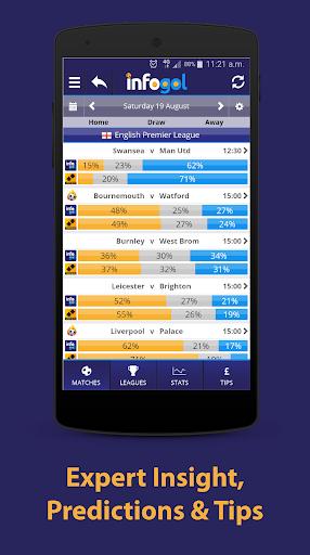 Infogol u2013 Football Scores & Betting Tips 1.0.22 Screenshots 2