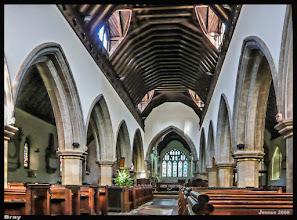 Photo: St Michael's Church, Bray, Berkshire dates from 1293. Atlas der Dorfkirchen in Norddeutschland: http://goo.gl/8Ucf53