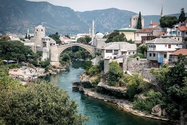Mostar classic view di E l i s a E n n E