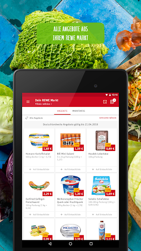 REWE - Online Shop & Märkte screenshot 17