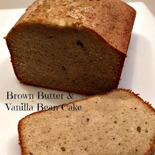 Brown Butter & Vanilla Bean Cake