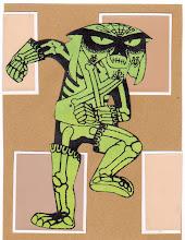 Photo: Wenchkin's Mail Art 366 - Day 179, card 179a
