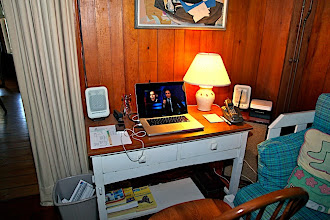 Photo: Computer table.