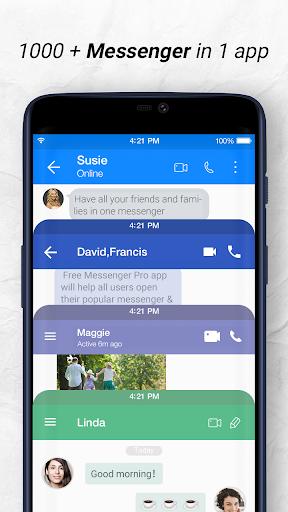 Messenger: Free Messages, Text, Video Chat 1.3.7 screenshots 1
