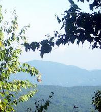 Photo: A very far a way mountain that we didn't climb.