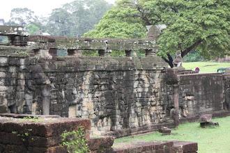 Photo: Year 2 Day 44 -  The Elephant Terrace of Angkor Thom