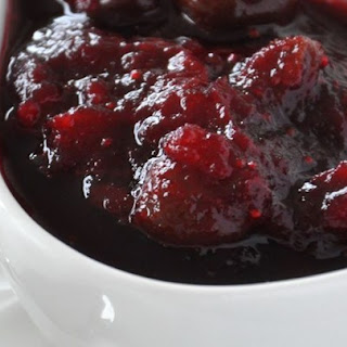 Dried Cherry and Cranberry Sauce