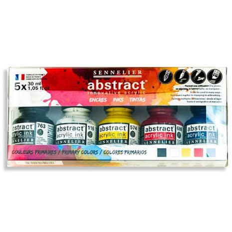 Abstract Acrylic Ink set 5x30ml