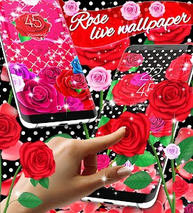 2020 Roses live wallpaper Apk Latest Version Download For Android 1