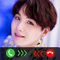 Suga Call You - Suga BTS Fake Video Call icon