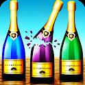bottle shoot game icon