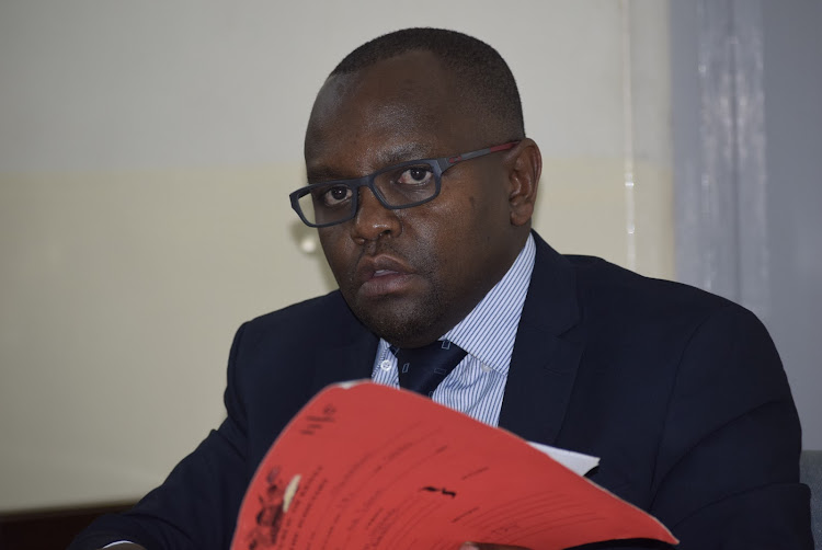 Makadara chief magistrate Heston Nyaga