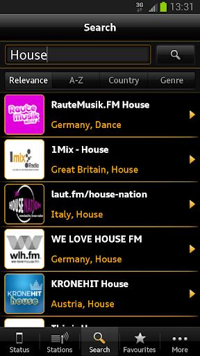 Audi Music Stream screenshot 3