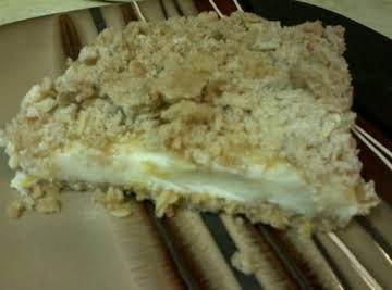 Creamy Lemon Oatmeal Bars