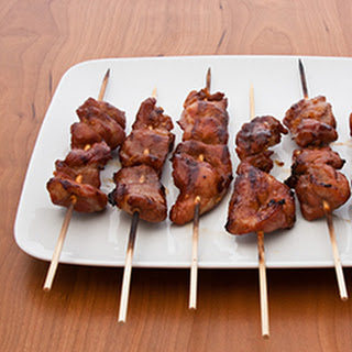 How to Make Pork Barbecue Skewers