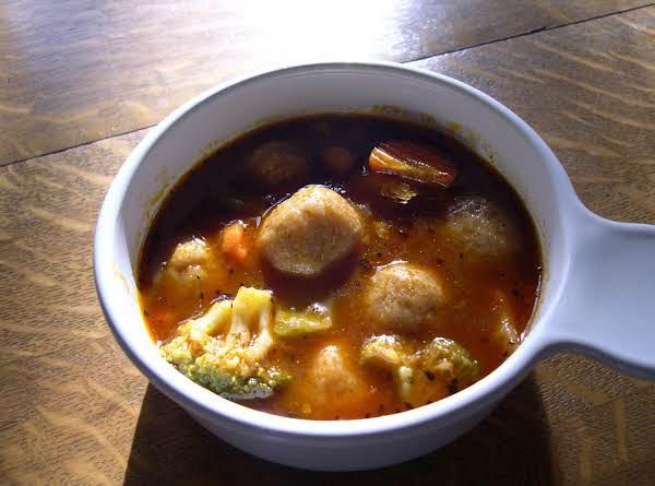 Middle Eastern Dumpling Soup Kobbah