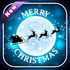 Christmas Moon Image And Wallpaper icon