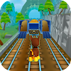 Paw Puppy Subway Train Surfer Patrol