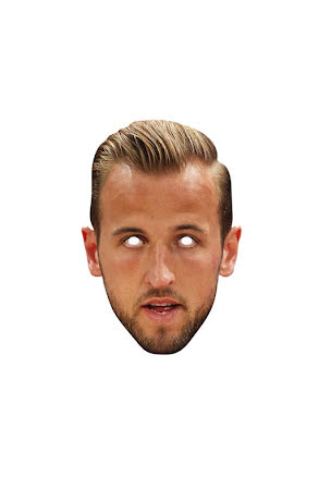 Pappmask, Harry Kane