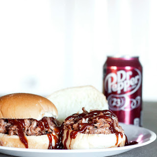 Pulled Pork Sandwiches in Dr Pepper Sauce