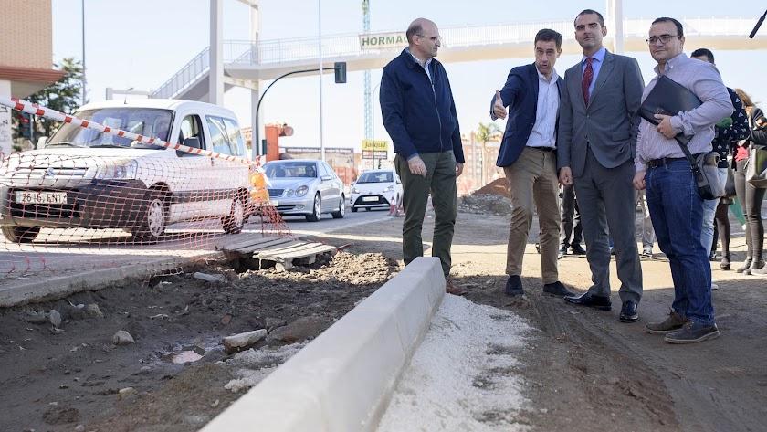 La 'Avenida' de Sierra Alhamilla estará lista el 20 de diciembre