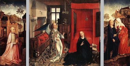 Photo: Annunciation Triptych, c. 1440