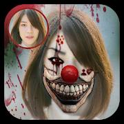 Scary Clown Face Maker - Creepy Photo Effect