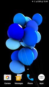 Balloons 3D Live Wallpaper screenshot 5