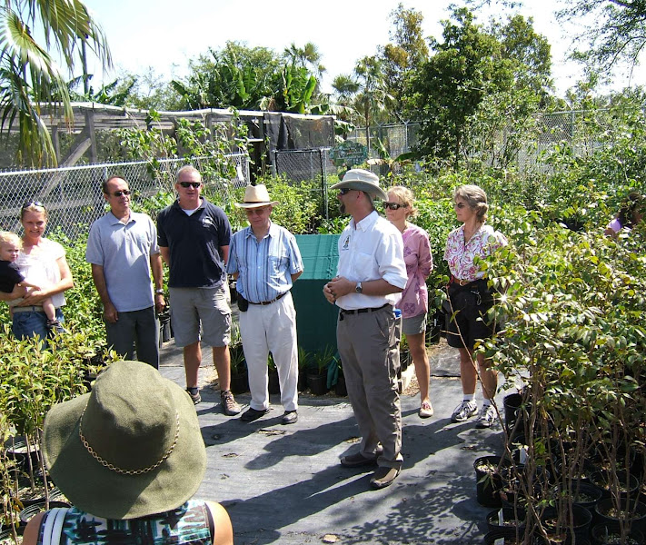 Photo: Native Tree Nursery opening at the Queen Elizabeth II Botanic Park, Grand Cayman. Mar.14, 2009